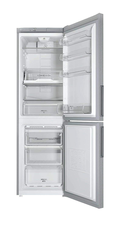 Hotpoint LH8FF2OA Libera installazione 301L A++ Argento frigorifero ...