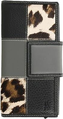 Cartera Billetera para Mujer en Piel de Primera Calidad con Compartimento para Billetes y Monedero (18x9 cm) Made in Spain: Amazon.es: Zapatos y complementos