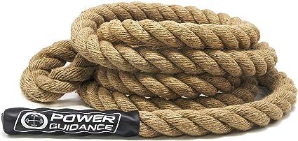 POWER GUIDANCE Cuerda de Escalada Profesional Climbing Rope Resistente, 38 mm de Diámetro