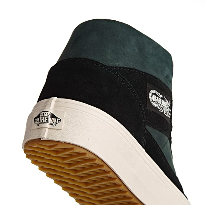 141fc93954c51f Vans Women s Caballero Waffles Shoes Podium Black Classic White 11.5 B(M)  US Women   10 D(M) US  Buy Online at Low Prices in India - Amazon.in