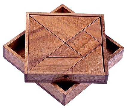 Puzzles & Geduldspiele Wooden Holz Puzzle Knobel Spiel Version 1
