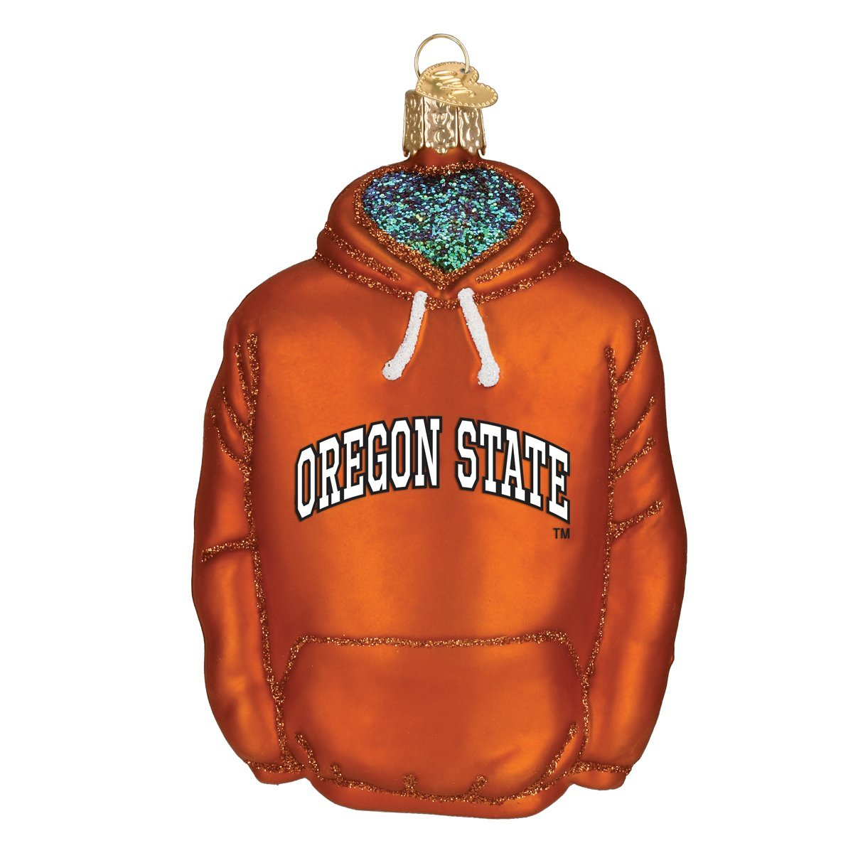 Old World Christmas Ornaments Oregon State Hoodie Glass Blown Ornaments for Christmas Tree