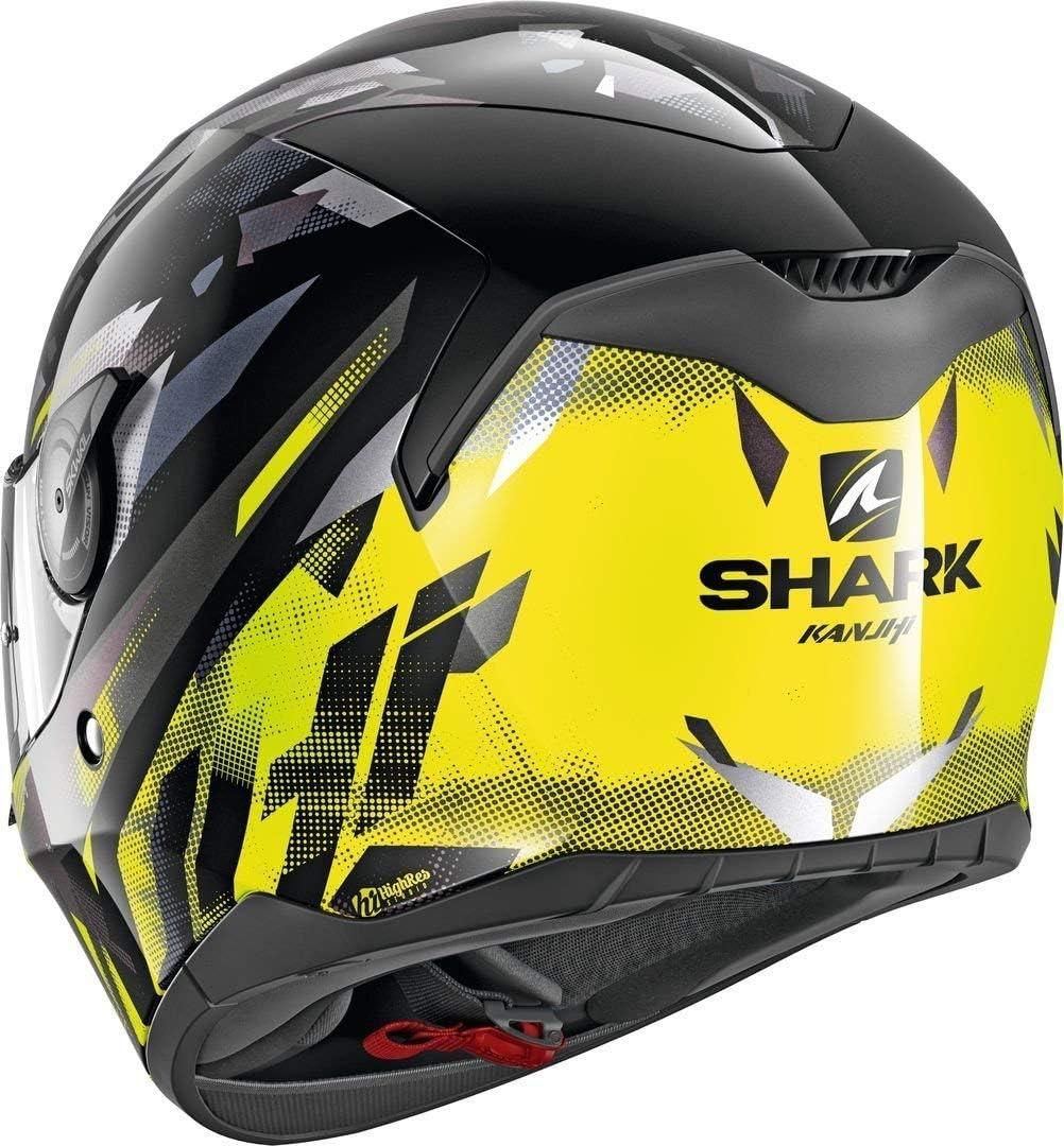 Noir//Blanc//Rouge XS Motorcycle helmets Shark D-SKWAL KANHJI KRW