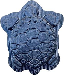 AUTUMN Turtle Stepping Stone Mold, Concrete Cement Mold, Stepping Stones for Garden Walkway, DIY Walkway Stepping Stones, Turtle Statue for Garden, Turtle Garden Decor Mold, Regular, Made in USA