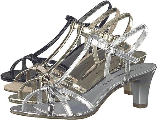 Tamaris 28329, Salomés Femme: : Chaussures et Sacs