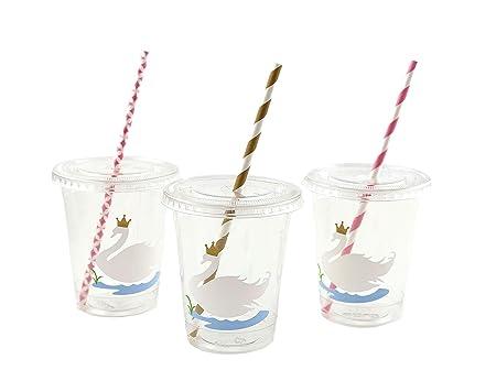 Swan Party Cups - Juego de 12 Vasos para Fiesta de ...