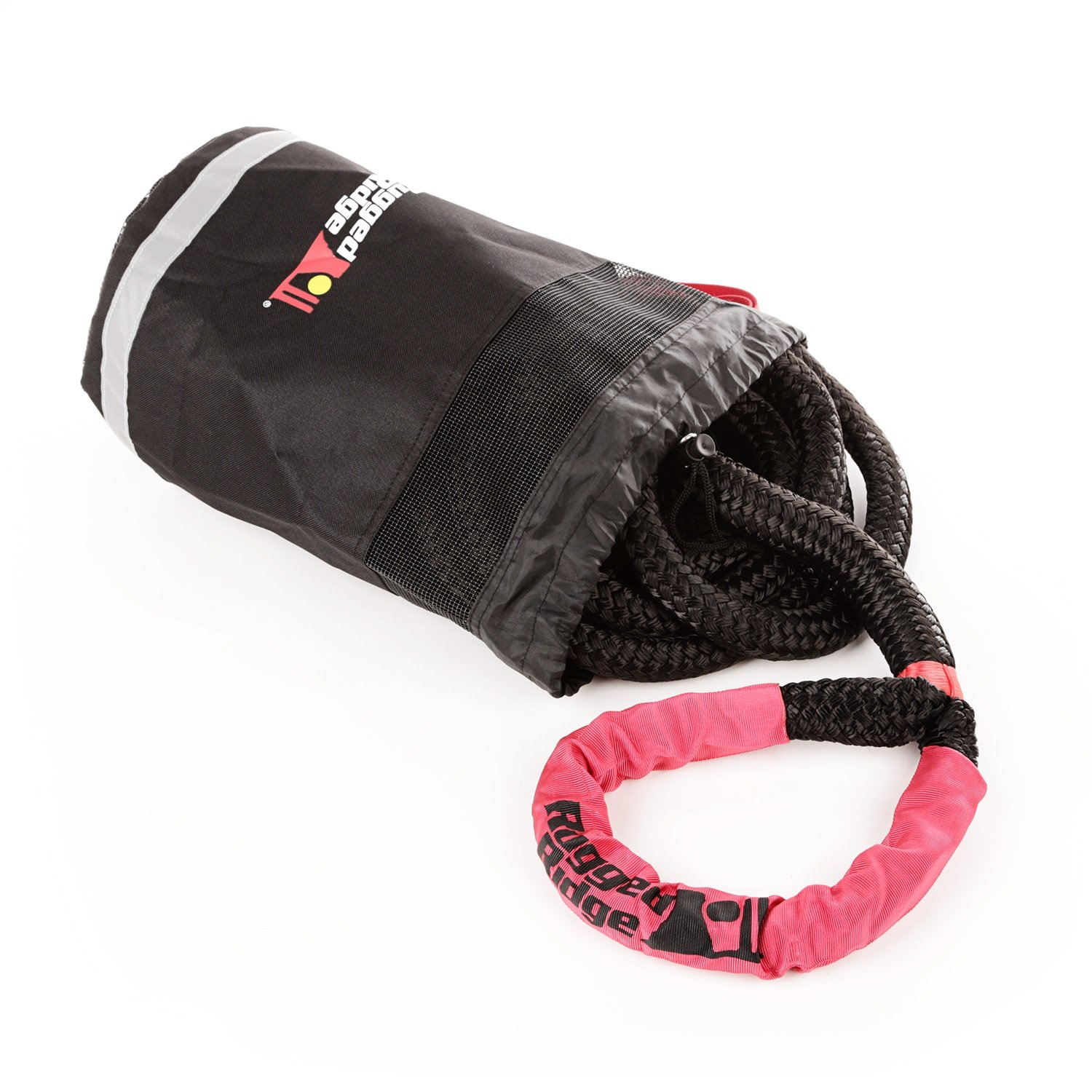 Rugged Ridge 15104.30 Kinetic Recovery Rope with Cinch Storage Bag by Rugged Ridge