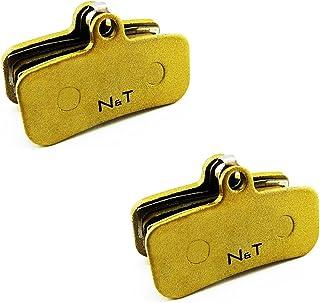 Noah and Theo NT-BP018/SI Lot de 2 plaquettes de frein à disque fritté pour Tektro Dorado 4P HD-E720 HD-E725 Orion 4P HD-M735 (avant Orion P 4+2 étrier uniquement) Orion 4P HD-M745. Q10YS compatible