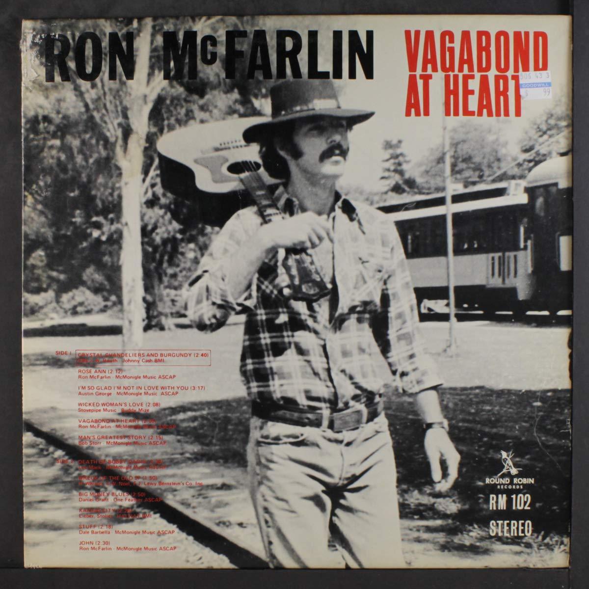 vagabond at heart: RON MCFARLIN: Amazon.es: Música