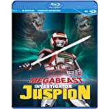 MegaBeast Investigator Juspion Complete Series SDBD [Blu-ray]