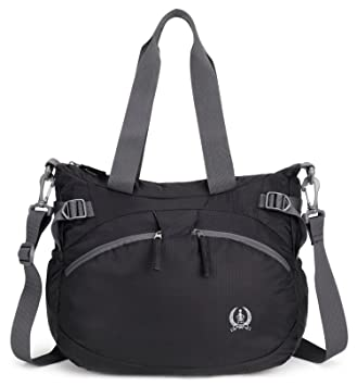 Forestfish Womens Lightweight Gym Tote Bag Waterproof Sports Handbag