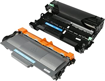 Toner 1-Pack, Drum 1-Pack SuperInk 2 Pack Toner Cartridge and Drum Unit Replacement Compatible for Brother TN750 TN-750 TN720 TN-720 DR720 DR-720