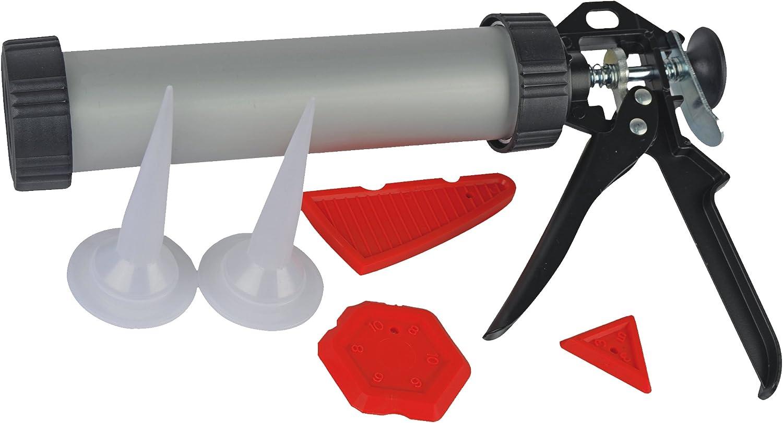 Br/üder Mannesmann Werkzeuge m48200/silicona de prensa con accesorios, 6/piezas