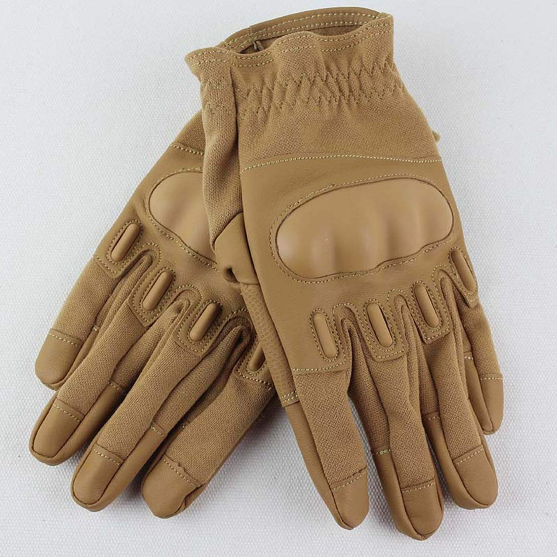 Carriemeow Tactical Full Finger Gloves Special Forces Tactical Gloves Outdoor Riding Sports Tactical Training Gloves