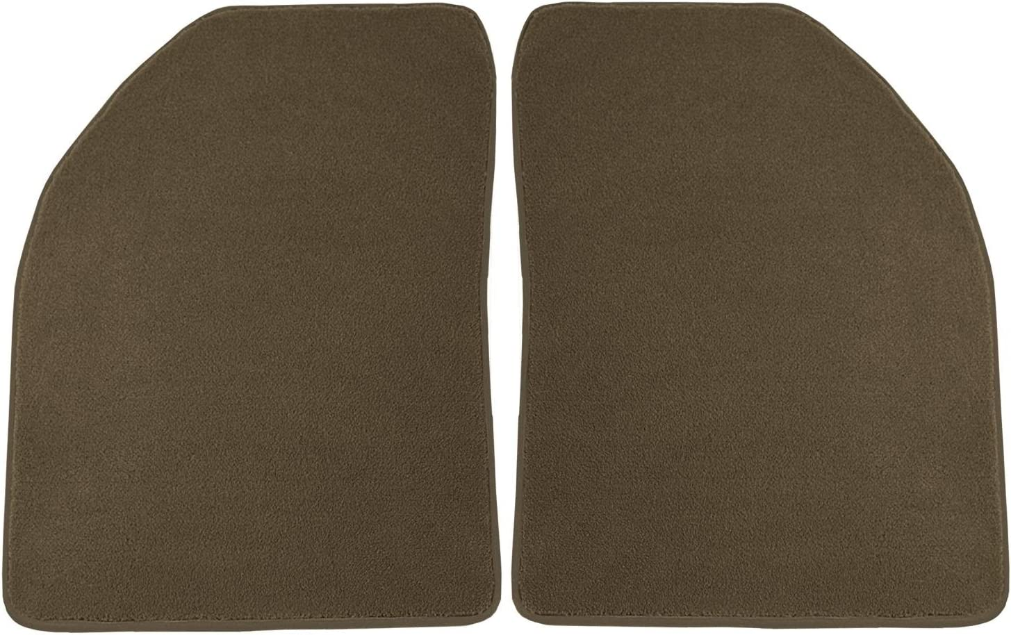 Coverking Front and Rear Floor Mats for Select Subaru Models 70 Oz Carpet Oak