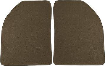 Black Coverking Custom Fit Front Floor Mats for Select Mazda 6 Models Nylon Carpet