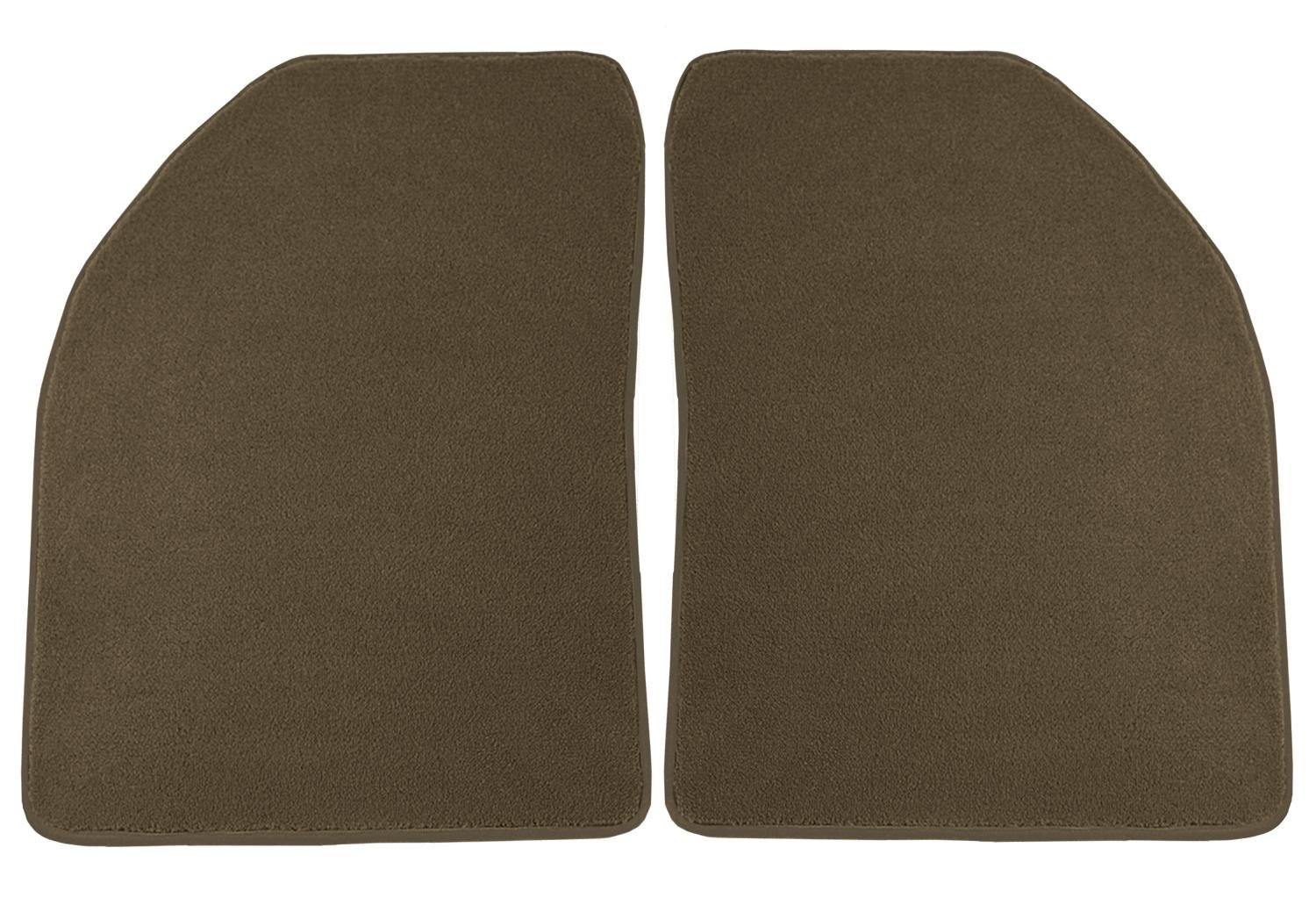 Black Coverking Custom Fit Front Floor Mats for Select Models Nylon Carpet