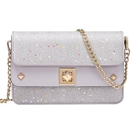 1fef631140955 MYLL Women Handbags Fox Decoration Fashion Double-layer DesignSmall Purse  Shoulder Crossbody Bags Small Square Bag,Silver: Amazon.co.uk: Kitchen &  Home