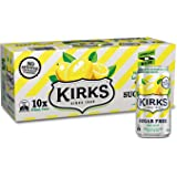 Kirks Sugar Free Lemon Squash 375ml x 10