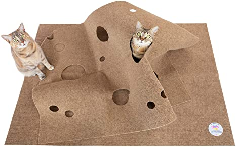 Amazon Com Snugglycat The Ripple Rug Made In Usa Cat