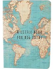 Sass & Belle - Libreta pequeña vintage mapamundi (CR047)