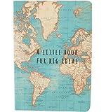 Sass & Belle Vintage Map Big Ideas Notebook, Multi-Colour