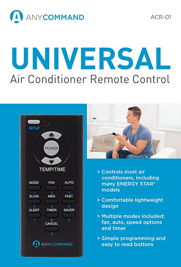38f345642ea9 Amazon.com  AnyCommand ACR-01 Universal AC Remote Control for Window Air  Conditioners