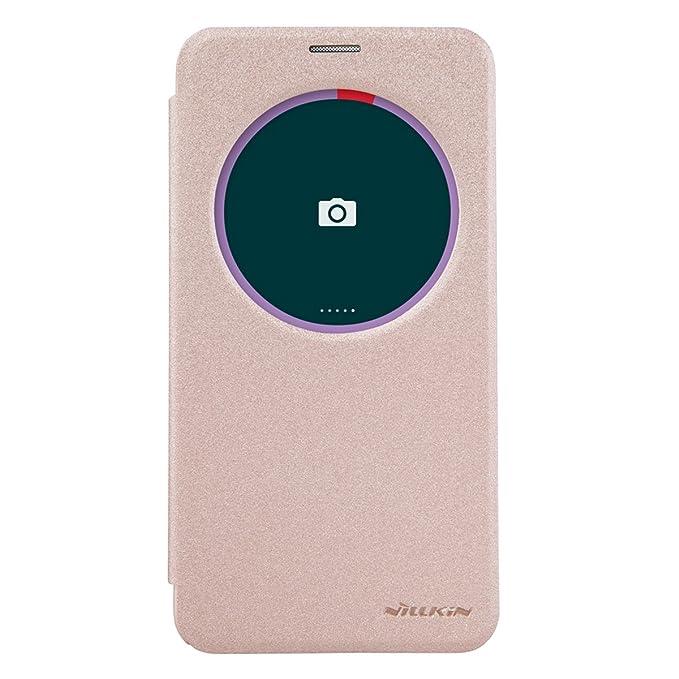 6 opinioni per Asus Zenfone 2 ZE551ML/550ML Cover- Nillkin Flip PU Pelle Smart Cover Custodia