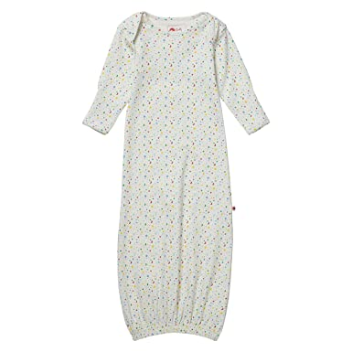 701c137010b Piccalilly Newborn Baby Nightgown Organic Cotton Unisex Star 0-6 Months  with Integrated Scratch Mitts  Amazon.co.uk  Clothing
