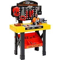 Keezi Kids Pretend Play Set Workbench Tools 54pcs
