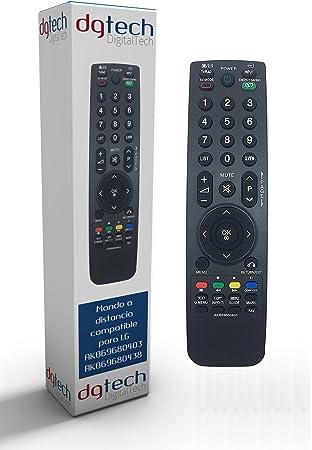 DigitalTech® - Mando de sustitución para televisores LG ...