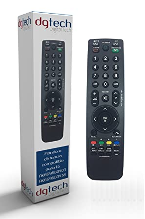 51f02b9dccc9a DigitalTech® - Mando de sustitución para televisores LG AKB69680403  AKB69680438  Amazon.es  Electrónica