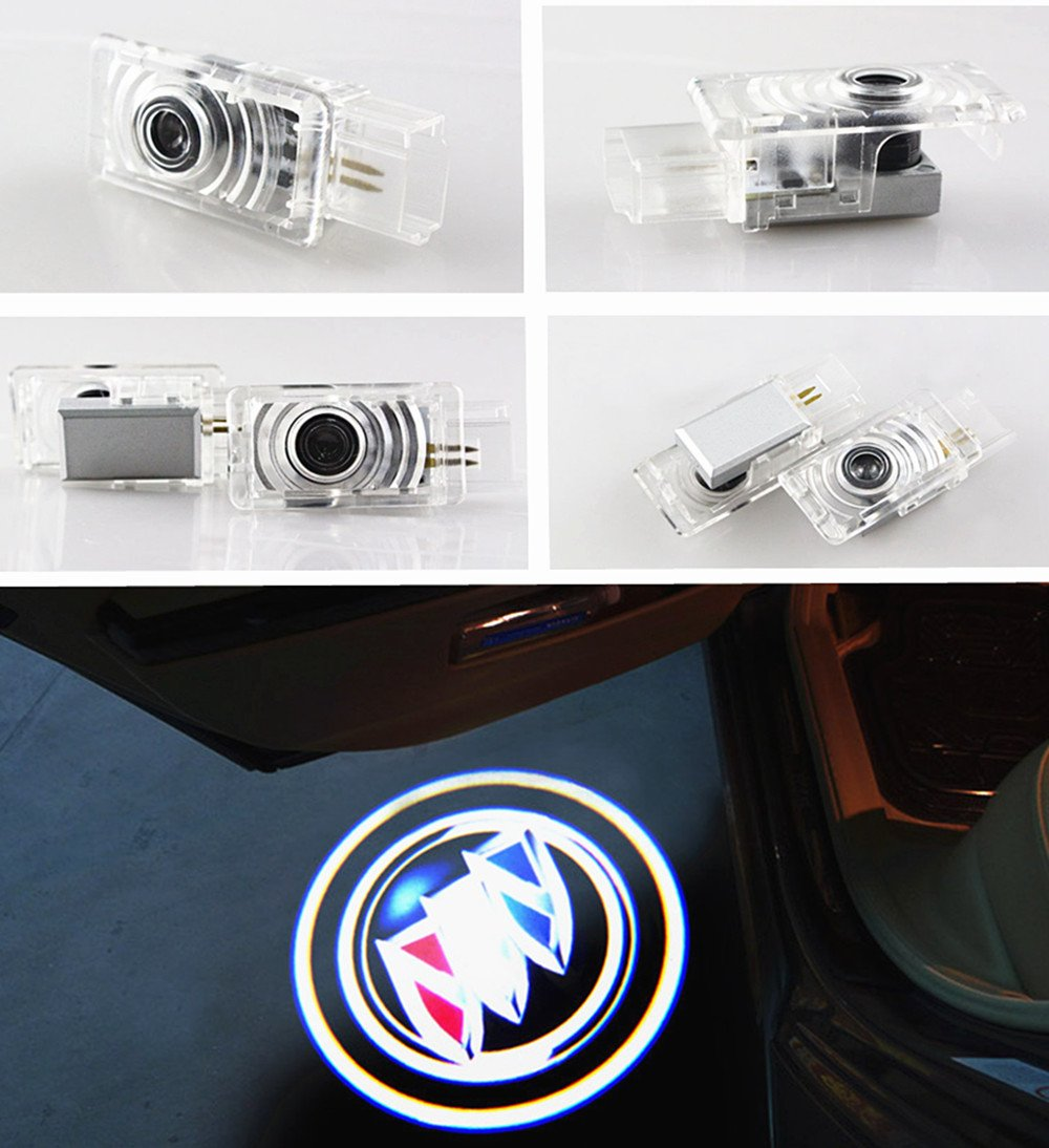 Crystal for Toyota 4 Runner Avalon Camry Highlander Land Cruiser Prius Sequoia Sienna Tundra Venza Car LED Projector Door Ghost Shadow Welcome Logo Light