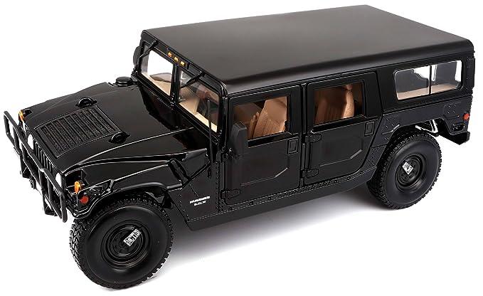 Amazon.com: Maisto 1:18 Scale 2003 Hummer H2 SUV cast Vehicle ...