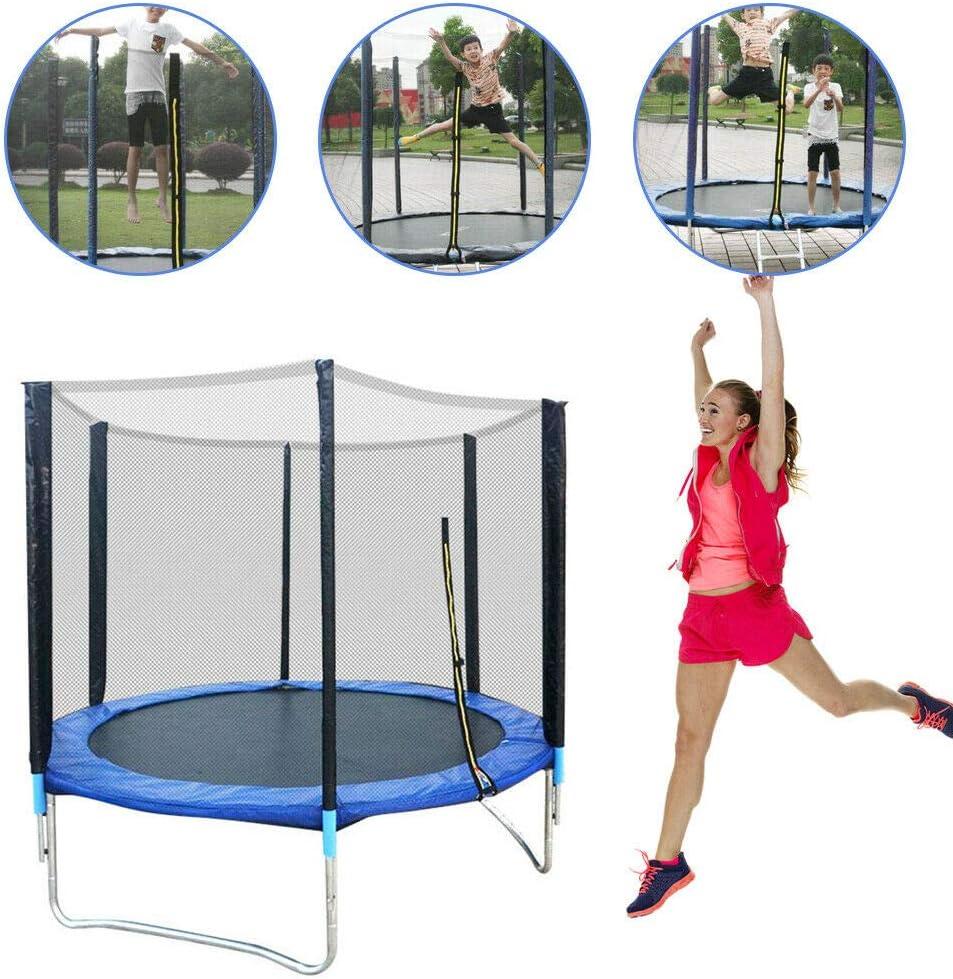 WUPYI2018 Kindertrampolin,Au/ßen Gartentrampolin mit Sicherheitsnetz,/Ø183cm,Belastbarkeit bis zu 300kg,f/ür DREI Kinder
