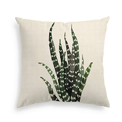 Artoid Conch Cactus, Cereus, Planta Verde Suave Lino | Funda ...
