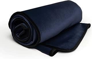 product image for Liberator Decor Fascinator Throw - Moisture Proof Sensual Blanket, Indigo Microvelvet
