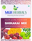 MGH Herbals 100% Natural Organic Shikakai Mix Powder With Amla, Reetha, Bhringraj, Hibiscus, Neem For Hair Wash (Dry Shampoo) 500Gms