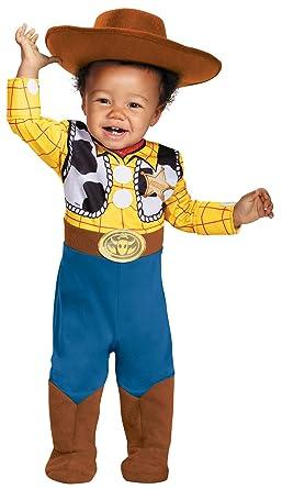 uhc disney baby boys toy story woody theme deluxe infant halloween costume 12 18m