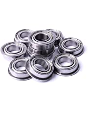 Atoplee 10pcs F688ZZ 8x16x5mm Flanged Miniature Double Shielded Ball Bearing Pulley