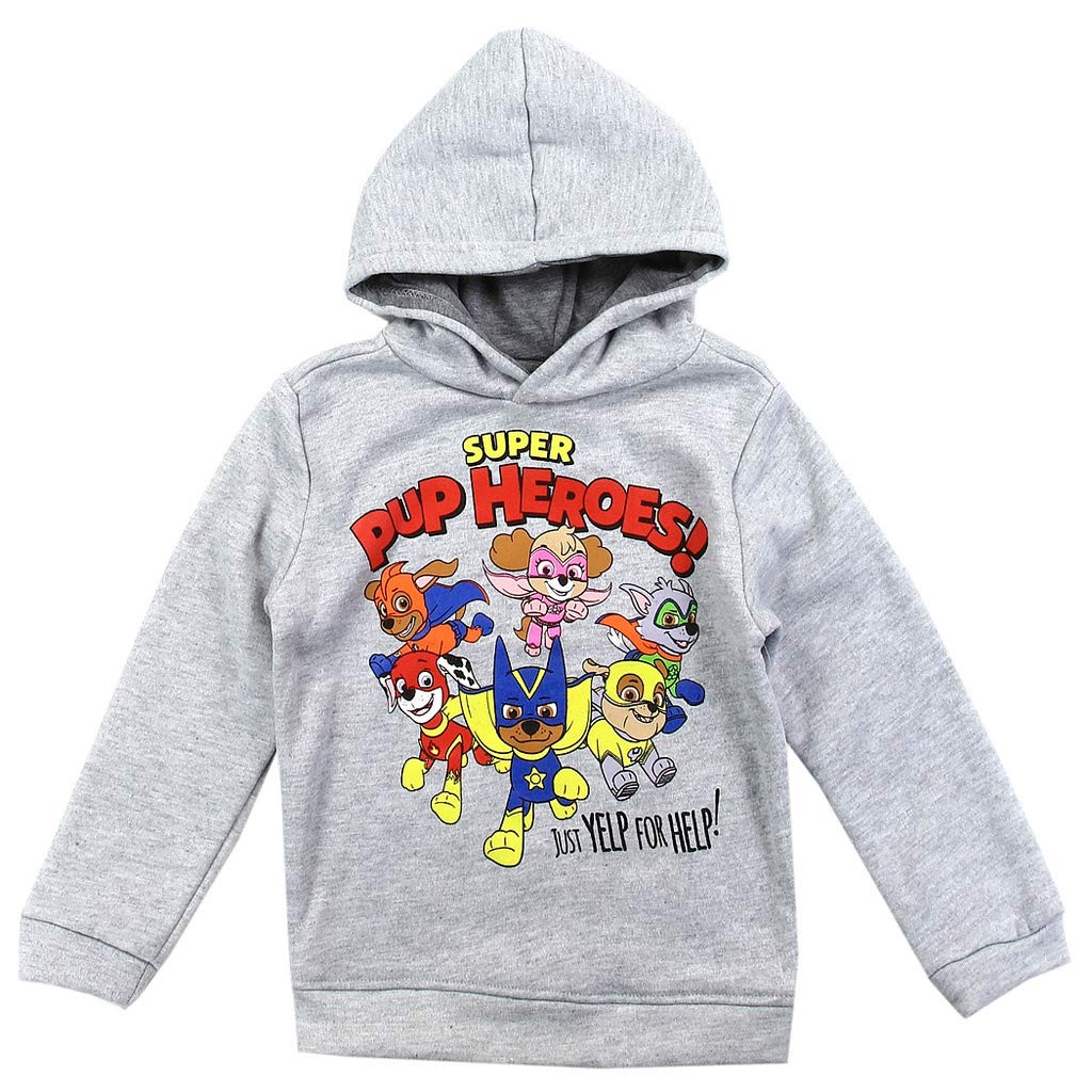 Paw Patrol Toddler Little Boys Ready For Action Pullover Hoodie Sweater