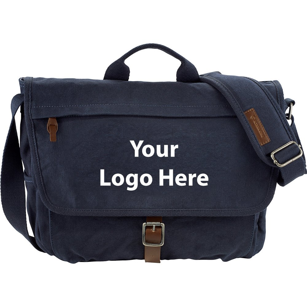 Alternative Mailbag 15'' Computer Messenger Bag - 6 Quantity - $69.00 Each - PROMOTIONAL PRODUCT / BULK / BRANDED with YOUR LOGO / CUSTOMIZED