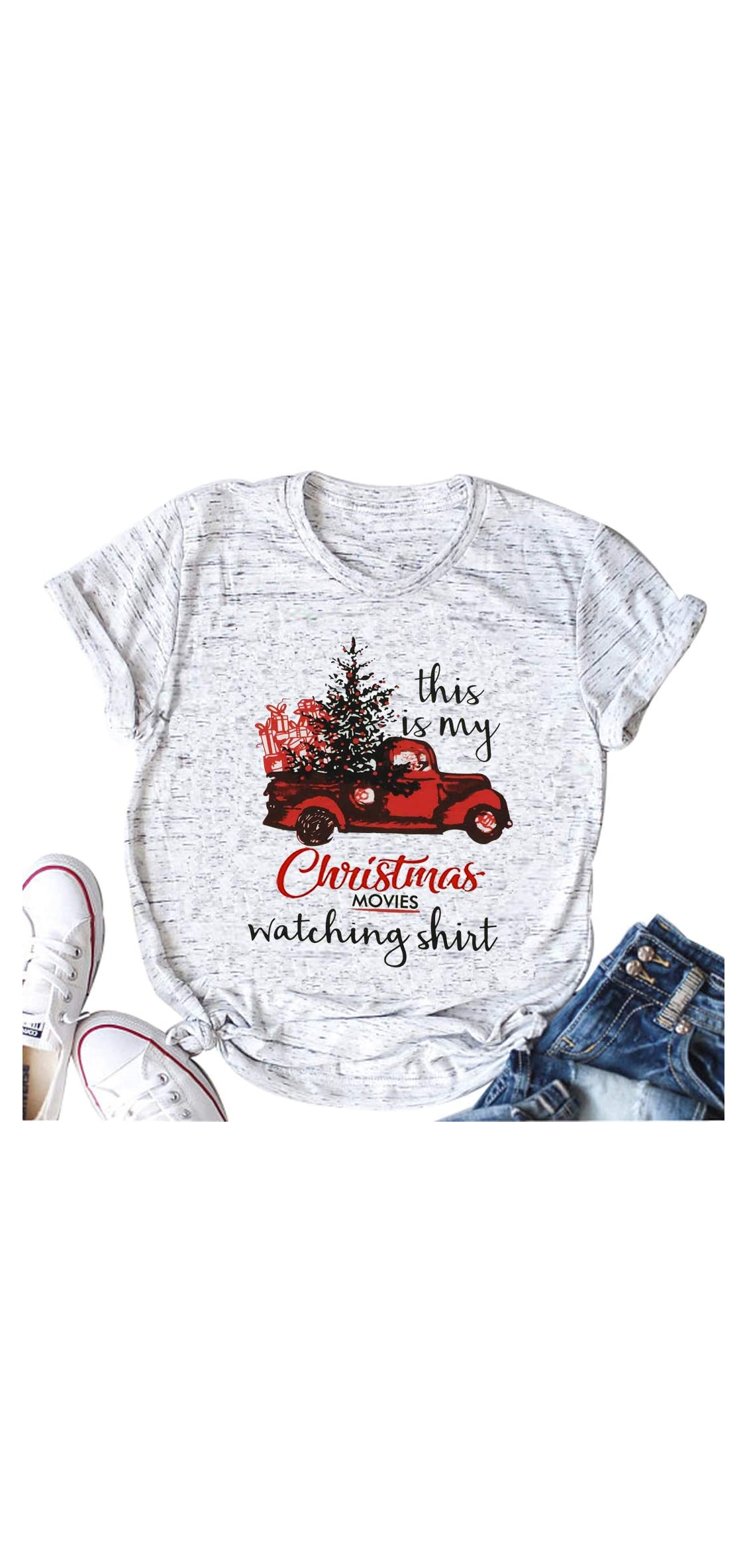 This Is My Christmas Movie Watching T Shirts Cute Christmas Tree