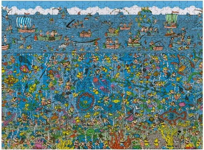 Amazon.com: 300 Pieces Jigsaw Puzzle, Where