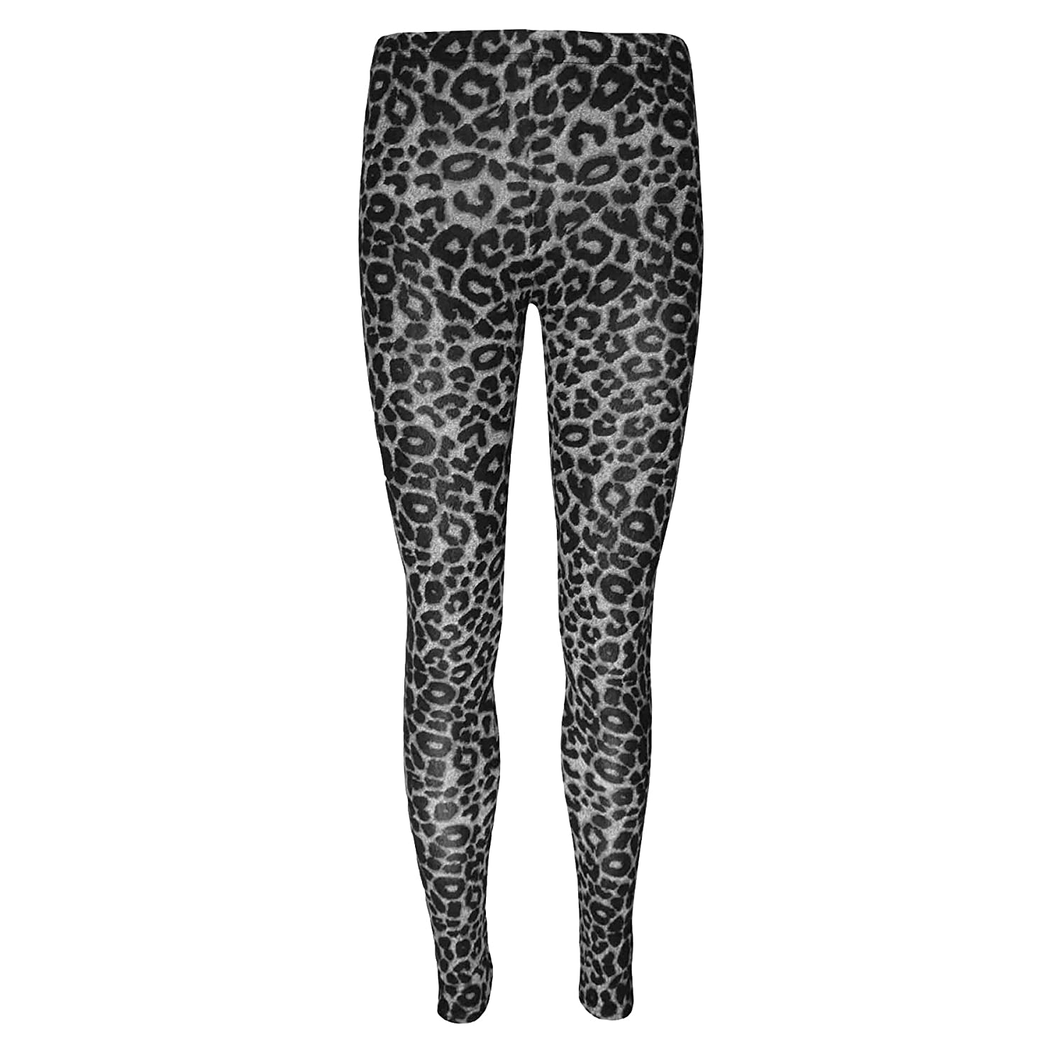 FAST TREND CLOTHING NEW GIRLS KIDS TWEEN STRETCH FULL LENGTH ANIMAL PRINT LEGGING PANT TIGHT AGE 7-13 YEARS
