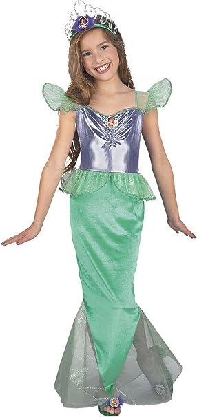 La Sirenita Ariel Disney niño disfraz de estándar: Amazon.es: Ropa ...