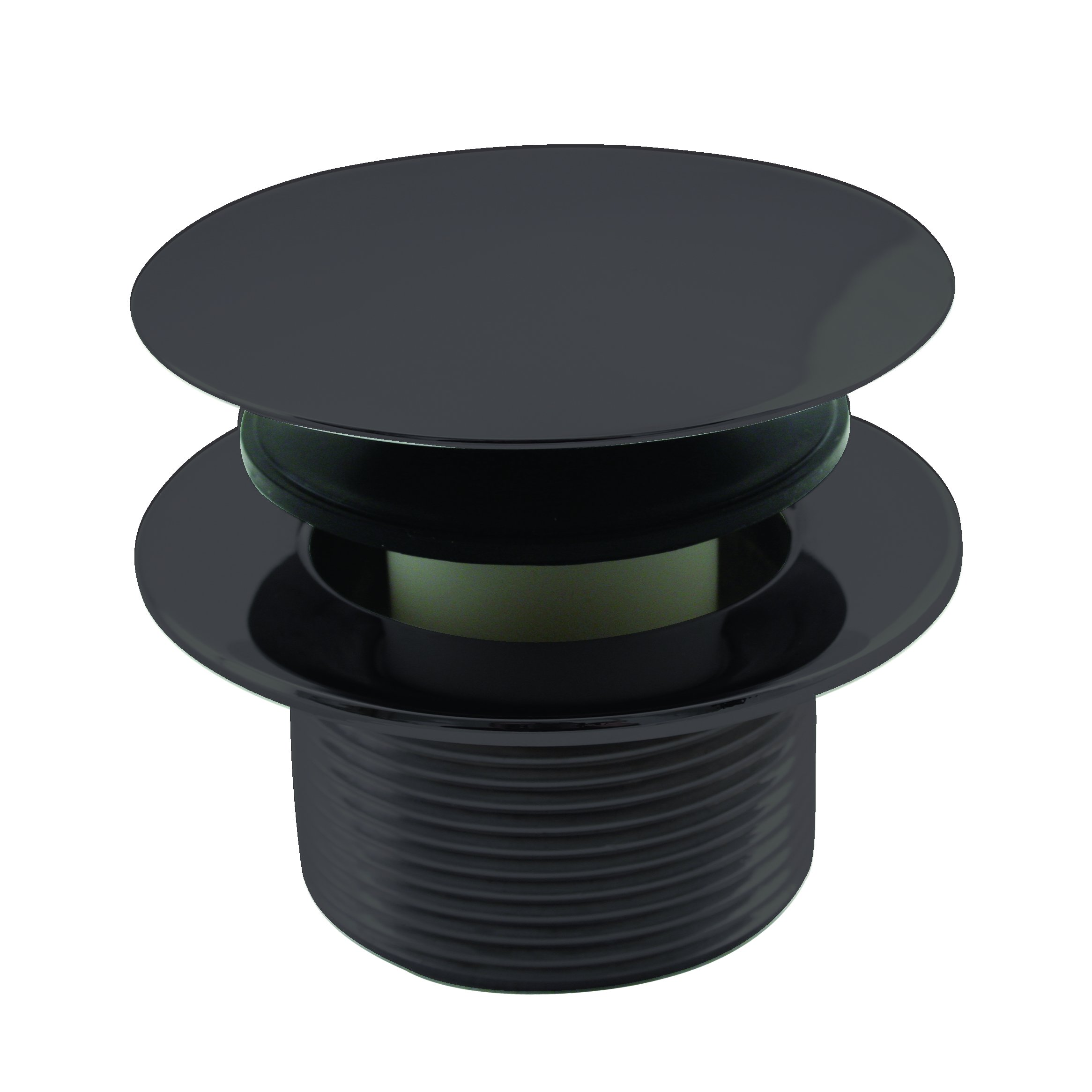 Westbrass 1-1/2'' NPSM Coarse Thread Tip-Toe Bathtub Drain Plug, Oil Rubbed Bronze, D398R-12