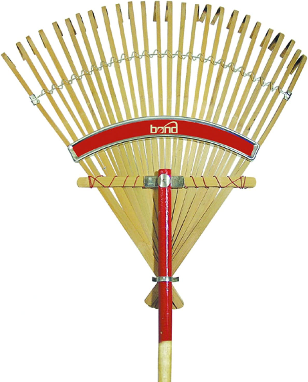 Flexrake CFP24 24-Inch Bamboo Rake with 48-Inch Wood Handle