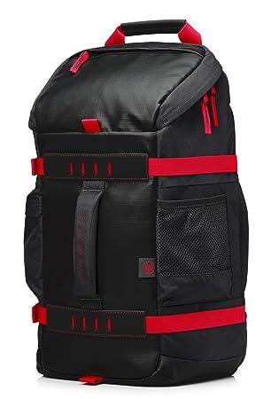 1827c6dbffaab HP Odyssey Sport Rucksack schwarz   rot  Amazon.de  Computer   Zubehör