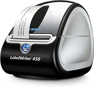 DYMO Label Printer | LabelWriter 450 Direct Thermal Label Printer, Great for Labeling, Filing, Mailing, Barcodes and More, Home & Office Organization